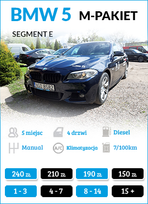 BMW 520 M-PAKIET